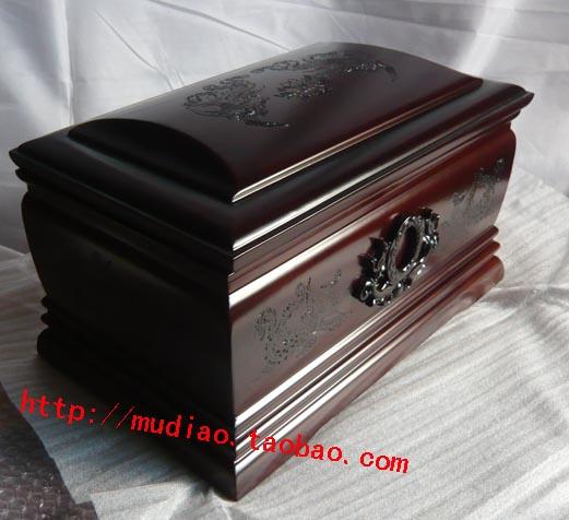 供应殡葬工艺品木雕骨灰盒材图片