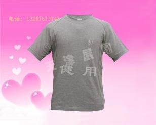 天津生产竹炭T恤衫OEM贴牌加工图片