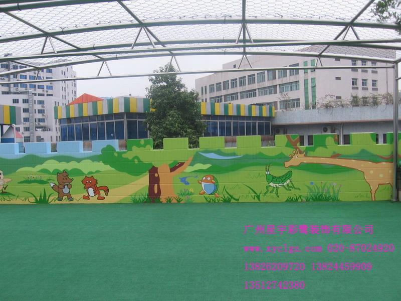 供应专业幼儿园手绘壁画