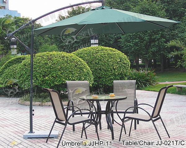 户外家具休闲桌椅户外太阳伞图片