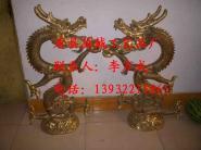 四川铜雕双龙戏珠铸铜雕塑图片