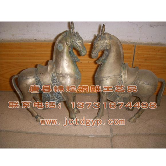 蒙古族人物铸铜雕塑