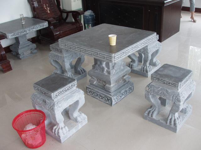 凳园石桌林石桌石凳石椅