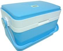 供应疫苗保温箱疫苗冷藏运输箱无源数显保温箱冷藏盒批发