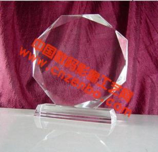 郑州水晶工艺品水晶影像空白材料水图片