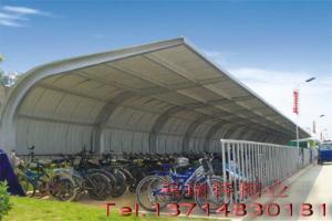 供应珠海车棚汽车车棚自行车车棚
