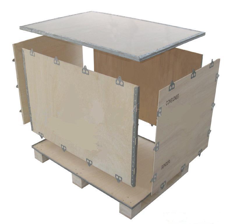 供应免熏蒸包装箱木托盘图片