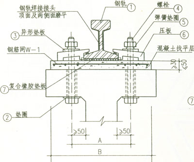 轨道送电接线图