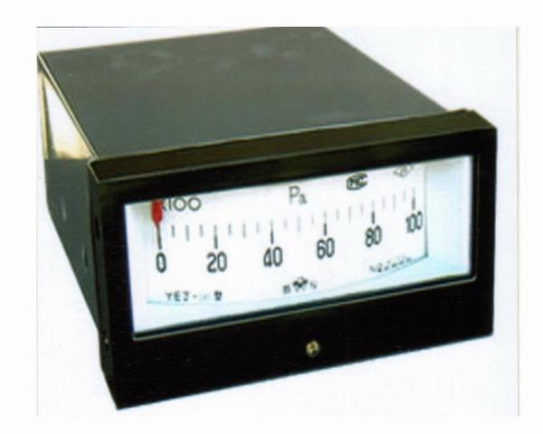 供应矩形膜盒压力表批发
