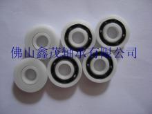 供应塑料轴承6201耐磨POM尼龙轴承尺寸123210mm