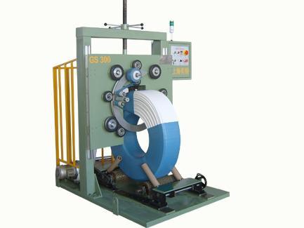 供应经济型胶管裹包机图片
