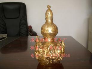 铜雕八仙葫芦图片
