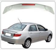 丰田08威驰夹式带灯ABS尾翼图片