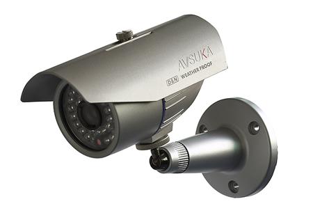 报警摄像头安装,联动红外报警摄像头