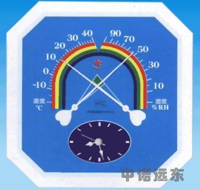酒泉温湿度计时钟图片