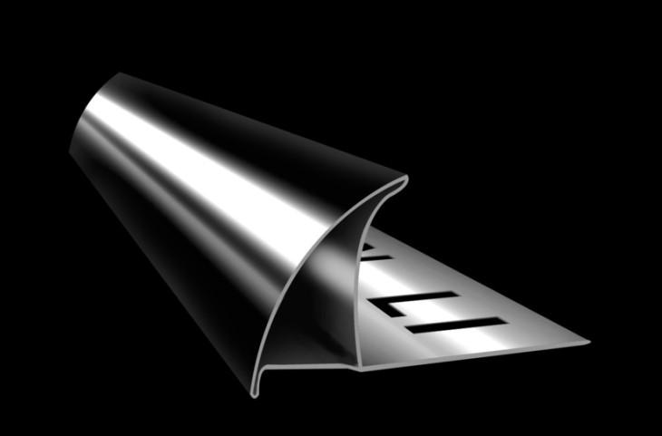 不锈钢10 封口阳角线 高清图片