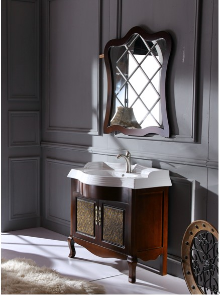 实木浴室柜枲图片_实木浴室柜枲图片大全