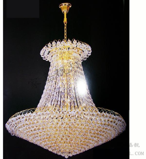 欧式古典水晶灯图片