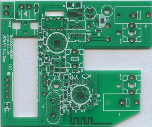 供应无线鼠标线路板,双面电金电路板,双面线路板,东莞双面板
