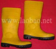 防砸防刺穿耐酸碱雨鞋图片