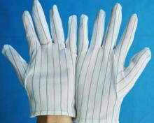 供应防静电手套-防静电点塑手套批发