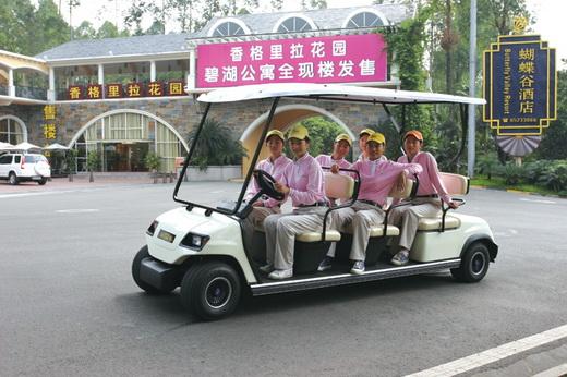 供应高尔夫观光车四轮电动图片