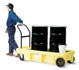 电子化学品防泄漏油桶搬运车