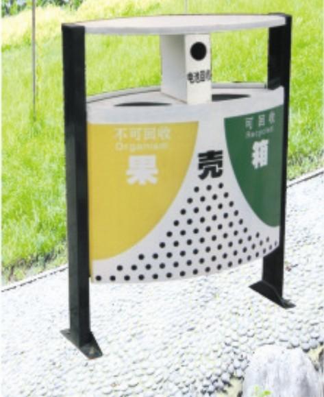 三箱式果壳箱; 果壳类环保贴画;