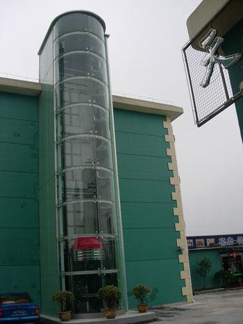 钢结构_钢结构供货商_供应南昌观光梯井道电梯钢结构