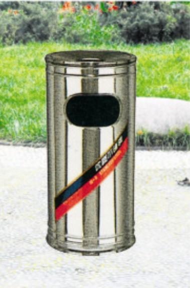 圆桶不锈钢垃圾桶