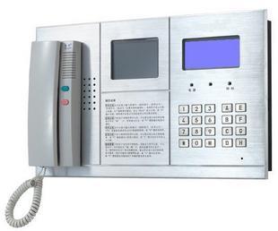 供应楼宇对讲门铃可视管理中心机