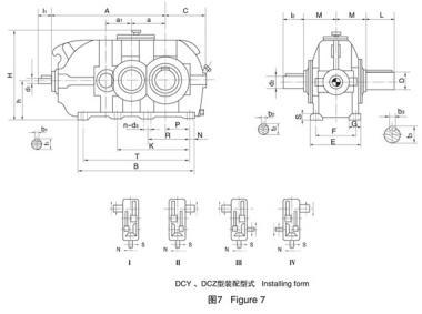 江西DCY280齿轮减速机图片/江西DCY280齿轮减速机样板图 (2)