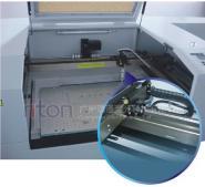 电池铜铝铂极片激光切割机图片