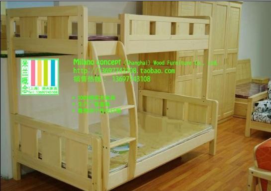 供应实木床衣柜书桌儿童床组合床单人床双层床双人床上下床高低床