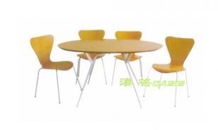曲木快餐椅CA-3703图片