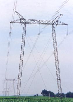 供应工艺装饰塔监测塔拉线塔避雷塔图片
