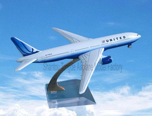 金属仿真飞机模型报价