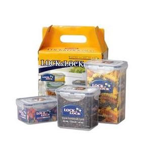 供应乐扣乐扣普通型保鲜盒3件套HPL807S001批发