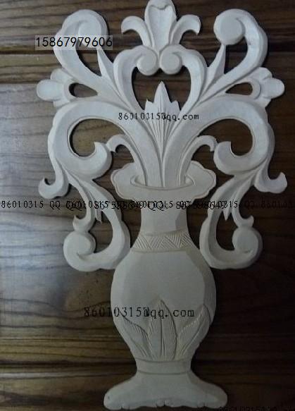 欧式装修洋花角花木线木贴木雕定做图片