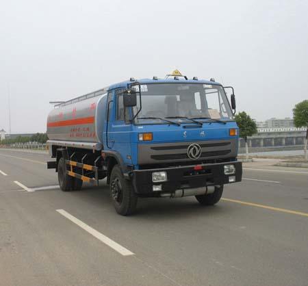 湖北随州东风天龙单桥化工液体运输车生产供应商 供应东风高清图片