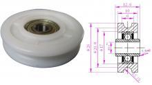 供应各种规格塑料轴承