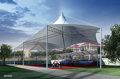 供应膜结构福州市体育运动场看台膜结构设计及施工