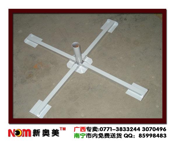 折叠底座太阳伞三角架图片