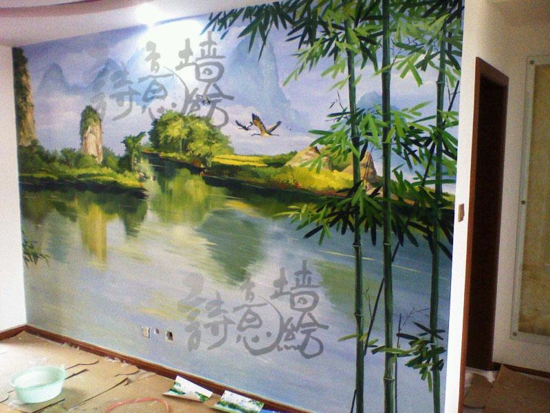 上海手绘墙公司价格