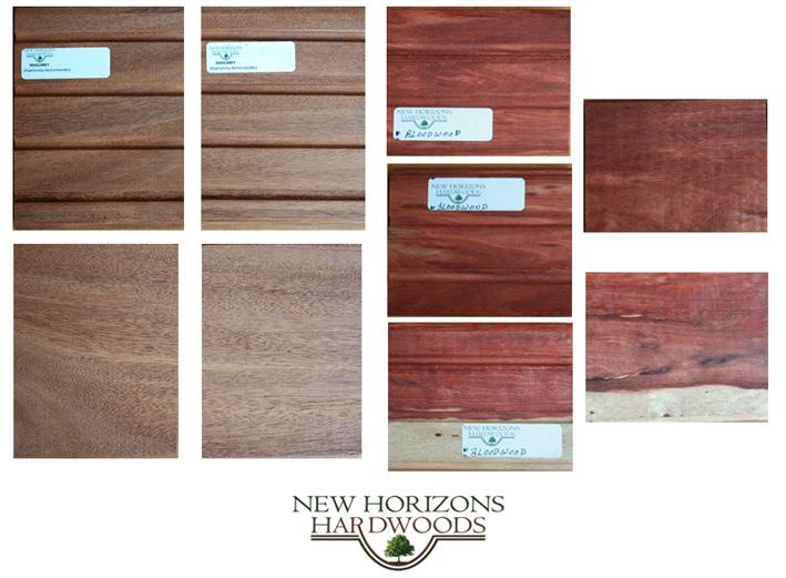 大量的越南红木无节板材图片