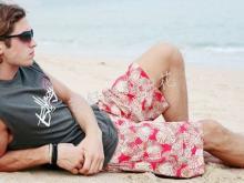 供应上海沙滩裤服装数码打样