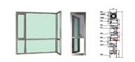 供应各式铝合金门窗铝窗花