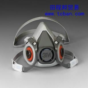 3M6200防毒面具防尘面具图片