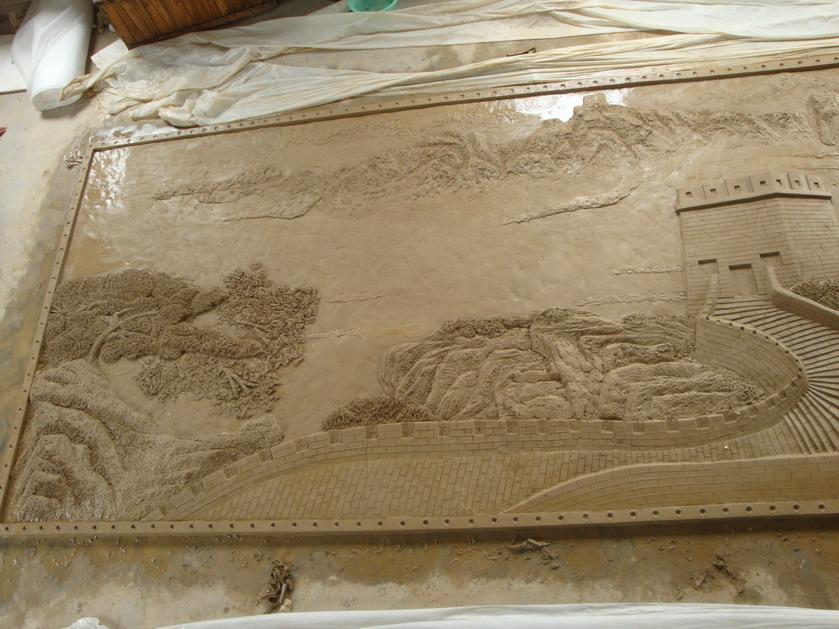 长城长卷精品报价    本公司专业生产砂岩,玻璃钢雕塑,水泥雕塑,圆雕