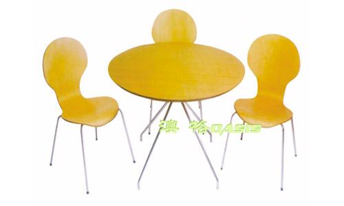 曲木快餐椅